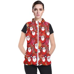 Santa Clause Women s Puffer Vest
