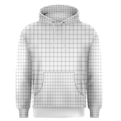 Aesthetic Black And White Grid Paper Imitation Men s Core Hoodie by genx