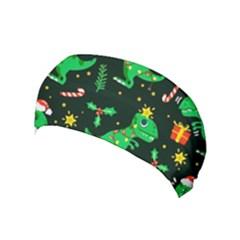 Christmas Funny Pattern Dinosaurs Yoga Headband