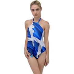 Martinique Go With The Flow One Piece Swimsuit by AwesomeFlags
