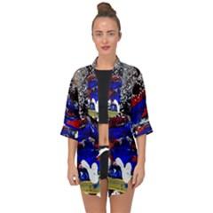 Holidays 1 1 Open Front Chiffon Kimono by bestdesignintheworld