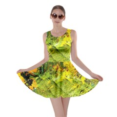 Yellow Chik 5 Skater Dress by bestdesignintheworld