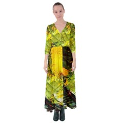Yellow Chik 5 Button Up Maxi Dress by bestdesignintheworld