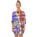 DESIGNED BY REVOLUTION CHILD  Freak Don t Get It Twisted  Chiffon Kimono