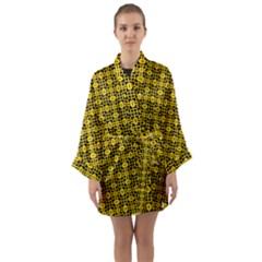 Venturo Long Sleeve Satin Kimono