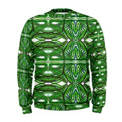 My Paint My Pallet Brocade Green Scarabs Men s Sweatshirt