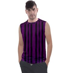 Tarija 016 Black Deep Purple Men s Regular Tank Top by Momc