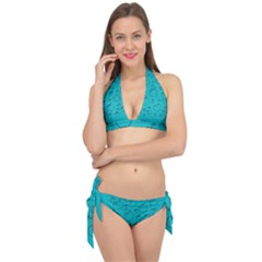 Small Apples And Big Apples Tie It Up Bikini Set by pepitasart