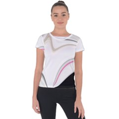 Tech Colors Short Sleeve Sports Top  by Sparkle