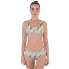 Color Tiles Criss Cross Bikini Set by Sparkle