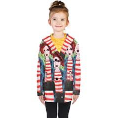 Fiola Wall Kids  Double Breasted Button Coat by snowwhitegirl