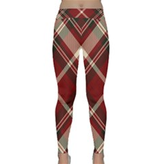 Tartan Scotland Seamless Plaid Pattern Vector Retro Background Fabric Vintage Check Color Square Classic Yoga Leggings by BangZart
