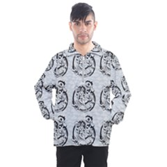 Monster Party - Hot Sexy Monster Demon With Ugly Little Monsters Men s Half Zip Pullover by DinzDas