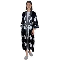 Inaugural Maxi Satin Kimono by chickenpineaps