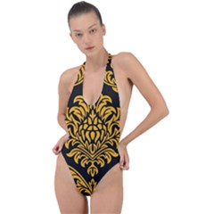 Finesse  Backless Halter One Piece Swimsuit by Sobalvarro