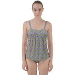 Sparks Twist Front Tankini Set by Sparkle