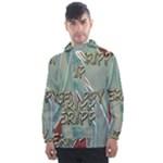 Sherellerippya15 Men s Front Pocket Pullover Windbreaker
