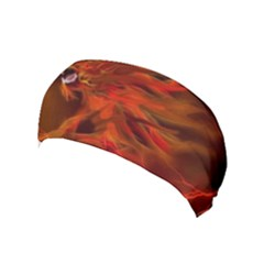 Fire Lion Flame Light Mystical Yoga Headband