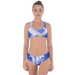 Origami Dragon Criss Cross Bikini Set