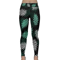 Illustrations Tropical Background Classic Yoga Leggings by AnjaniArt
