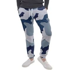 Camo Blue Men s Jogger Sweatpants by MooMoosMumma