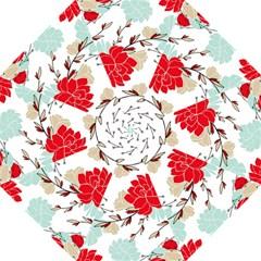 Floral Pattern  Straight Umbrellas by Sobalvarro