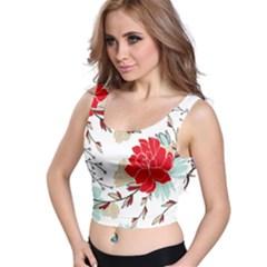 Floral Pattern  Crop Top by Sobalvarro