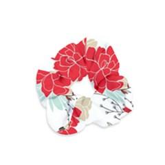 Floral Pattern  Velvet Scrunchie by Sobalvarro