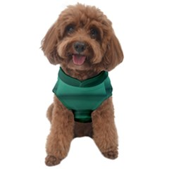 Biscay Green Ombre Dog Sweater by SpinnyChairDesigns