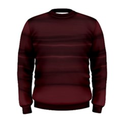 Burgundy Wine Ombre Men s Sweatshirt