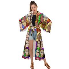 432sisters Maxi Kimono by Kritter