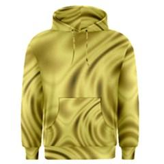Golden Wave  Men s Core Hoodie by Sabelacarlos