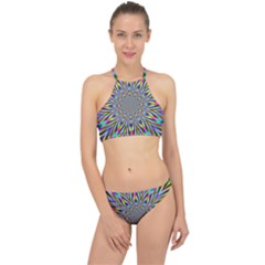 Psychedelic Wormhole Racer Front Bikini Set by Filthyphil