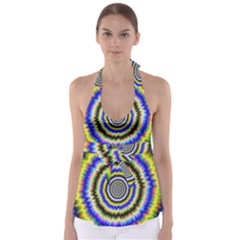 Psychedelic Blackhole Babydoll Tankini Top by Filthyphil