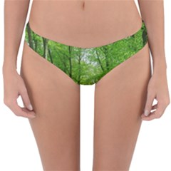 In The Forest The Fullness Of Spring, Green, Reversible Hipster Bikini Bottoms by MartinsMysteriousPhotographerShop