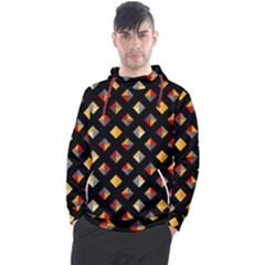 Geometric Diamond Tile Men s Pullover Hoodie by tmsartbazaar