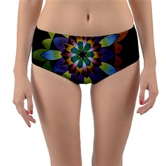 Authentic Desire Reversible Mid-waist Bikini Bottoms by idjy