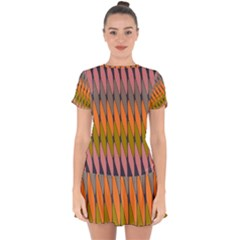 Zappwaits - Your Drop Hem Mini Chiffon Dress by zappwaits