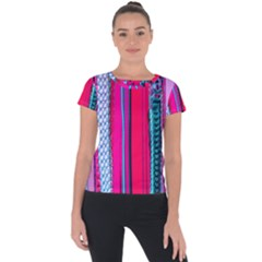 Fashion Belts Short Sleeve Sports Top  by essentialimage