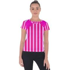 Cccartonnslogobg7 Short Sleeve Sports Top  by DayDreamersBoutique