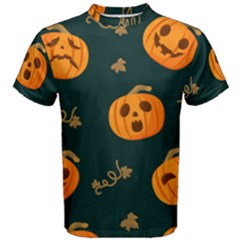 Halloween Men s Cotton Tee by Sobalvarro