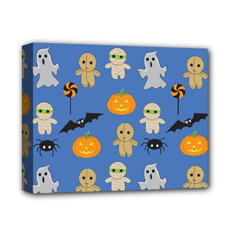 Halloween Deluxe Canvas 14  X 11  (stretched) by Sobalvarro