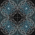 Jedi Prime Mandala Fabric View1