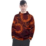 Dark Side Mandala Men s Pullover Hoodie