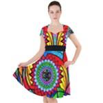 I Trust Myself To Create - Cap Sleeve Dress