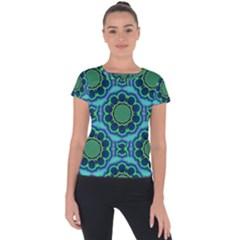 Gate Short Sleeve Sports Top  by Lotus