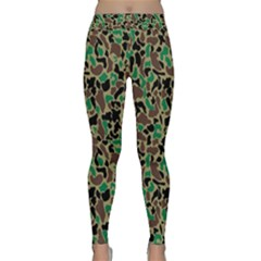Wet Country Camo Black Classic Yoga Leggings by asariicaleef
