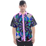 Pleiadian Lightwork Integration Model - Men s Short Sleeve Shirt