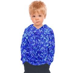 Blue Sequin Dreams Kids  Overhead Hoodie by essentialimage