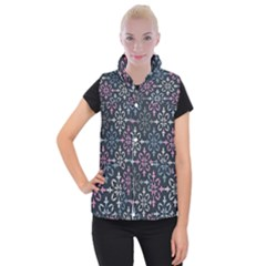 Background Wallpaper Abstract Art Women s Button Up Vest by AnjaniArt